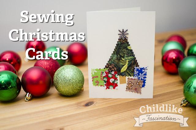 Sew Christmas Cards - Christmas Crafting