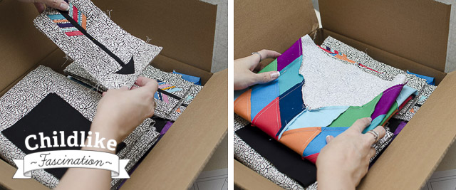 Packing away the quilt temporarily