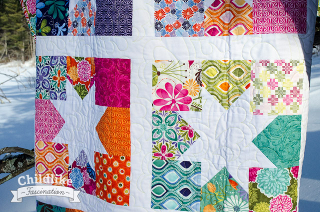 Wishing on Spring Stars - Full Size Quilt