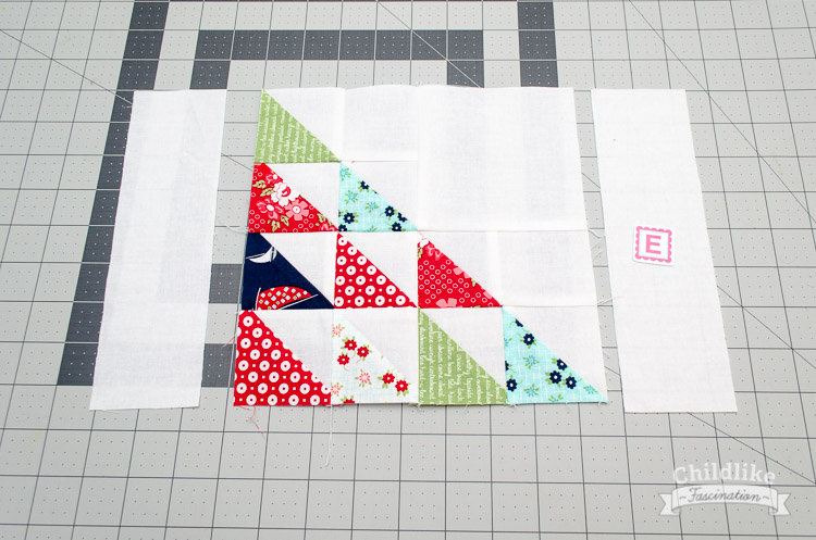 Sew sides to the sail